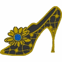 Vintage High Heel Shoe