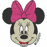 Minnie Mouse Head (large)
