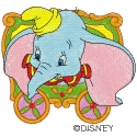 Dumbo in Circus Cart