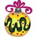 Yellow Tree Ornament