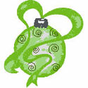 Green Tree Ornament