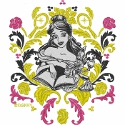 Belle The Booklover Brocade