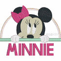 Baby Minnie Applique