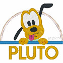 Baby Pluto Applique