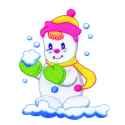 Gleeful Snowman