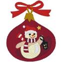 Waving Snowman Ornament