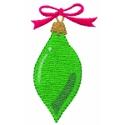 Skinny Green Ornament