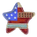 Red, White, and Blue Star