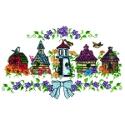 Five Birdhouses
