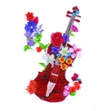 Floral Violin