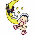 Baby with Moon & Stars