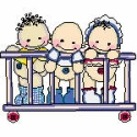 Babies in a Crib
