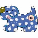 Stuffed Polka Dot Puppy