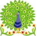 Green Apple Peacock