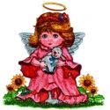 Angel Holding a Lamb