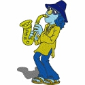 Zoot on the Saxophone