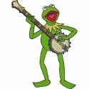 Kermit on the Banjo