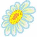 Blue Daisy 2