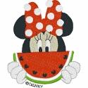 Hungry Minnie with Watermelon
