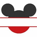 Mickey Ears Split Design