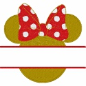 Minnie Ears Split Design