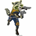 Rocket Raccoon Armed