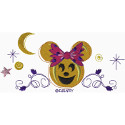 Minnie Jack O Lantern Border