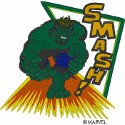Hulk Smash! Applique