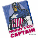 Mommy's Lil Captain Capt America