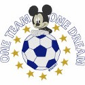 Mickey One Team One Dream Soccer