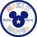 Mickey Make It Happen Applique