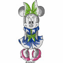Watercolor Minnie Standing