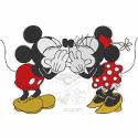 Mickey & Minnie Kiss