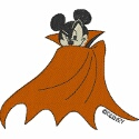 Mickey Mouse Vampire Noir