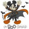Mickey Mouse Spooky Vampire Noir