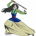 Warrior Fa Mulan