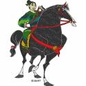 Fa Mulan Riding Khan