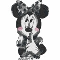 Minnie Mouse Blushing