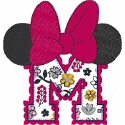 M for Minnie Floral