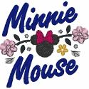 Minnie Mouse Floral Signature
