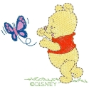 Baby Pooh & Butterfly