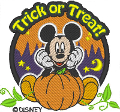Trick or Treat Mickey Mouse