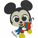 Baby Mickey's Present