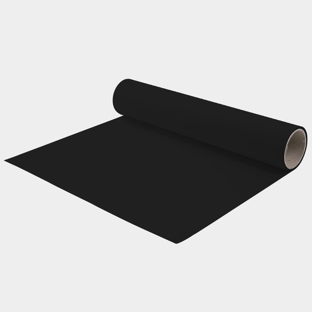 "HotMark Revolution Black Heat Transfer Vinyl 15""x5yd"