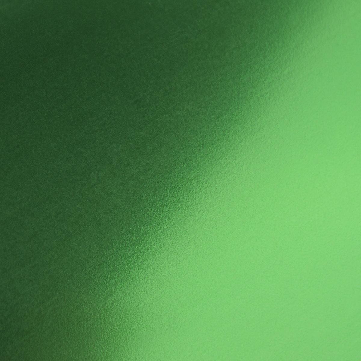 "Metallic Green Heat Applied Vinyl 14""x1yd roll"