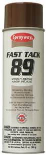 Sprayway Fast Tack Specialty Adhesive No. 89 - year end