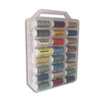 Maderia Top 48 Rayon colors in Plastic case  - Spool