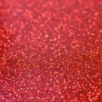 "Bling Bling Star Red  Glitter Heat Applied Vinyl 20""x 1 yard - Holiday HTV"