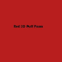 "3mm Red 3D Foam- 12"" x 18"" Sq  1 pc"