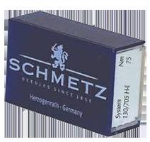 Schmetz FLAT SHANK Needles, Regular Point, Size 11/75, 5-Piece pack (for PR600), 5 per box